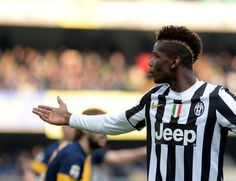 Paul Pogba Photos - Hellas Verona FC v Juventus - Serie A - Zimbio