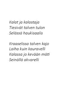 poem by Kalleinen Lassi, Photo S, Poems, Math Equations, Couples, Poetry, A Poem, Verses