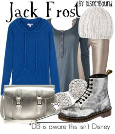 """Jack Frost"" by lalakay ❤ liked on Polyvore"