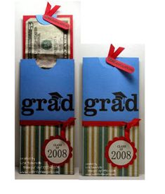 Designs by Lisa Somerville: Grad Money Holder Tutorial