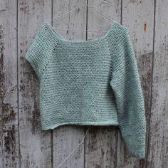 Crochet sweater - hæklet trøje