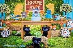 Encontrando Ideias: Festa Brave!!!