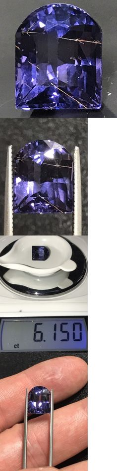 Spinel 110873: Natural 6.15 Carat Purple Spinel With Rutile Rare Genuine Loose Gemstone Fancy -> BUY IT NOW ONLY: $650 on eBay!