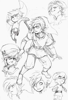 Link Character design