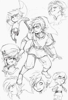 """""""Zelda Art"""" by Ashen"""