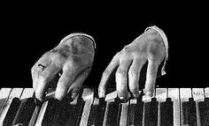Rachmaninoff's huge hands. The reason playing his music is something I find very difficult to do
