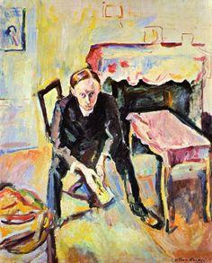 Emile Othon - El poeta Fernand Fluret (1907).