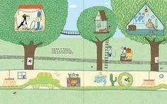 Mr. Postmouse's Rounds illustration Marianne Dubuc