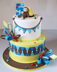 curious george cakes | Curious George Cake | Flickr - Photo Sharing!