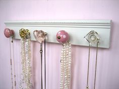Cute jewelry holder!!  I did one and LOVE it!  Burnt Orange to match my bedroom,  hung it in my closet!  tt