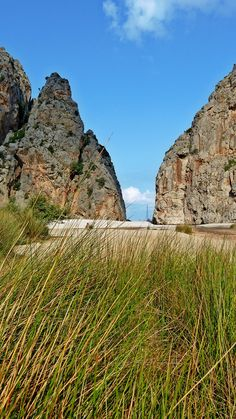 Blick in Richtung Meer / Sa Calobra, Mallorca #Travel #Reisen #Vacation #Holidays #Travelling