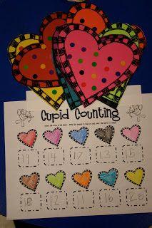 Mrs. Lee's Kindergarten: Valentine Centers