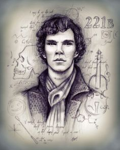 Amazing Sherlock fanart by ocean-crystal Here's the Deviant Art Link to the artist's work: http://ocean-crystal.deviantart.com/art/Sherlock-295138595