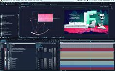 #aftereffects #motiongraphics #adobe @adobe #video #videoproduction  #teletruria #tv #bumper