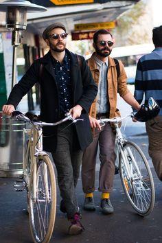 自転車欲しくなります。