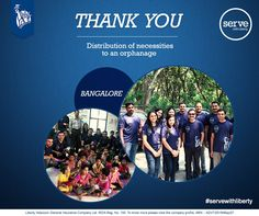 Basic necessities are an essential for all. Thank you Bangaloreans for not forgetting this and making their day special! #servewithliberty