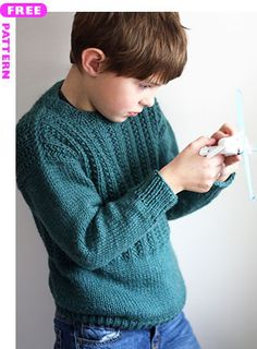 free knitting patterns boys sweaters – Knitting Tips Boys Knitting Patterns Free, Jumper Knitting Pattern, Knitting For Kids, Free Knitting, Knitting Sweaters, Crochet Patterns, Sweater Patterns, Crochet For Boys, Free Crochet