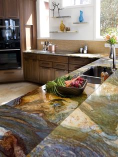 Virtual Kitchen To See What Granite Countertops Looks Like