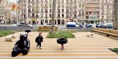 Passeig De St Joan Boulevard by Lola Domènech-06 « Landscape Architecture Works   Landezine