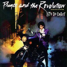 "Prince US 12"" single,  LET'S GO CRAZY, 1984, Cat. No. 0-20246"