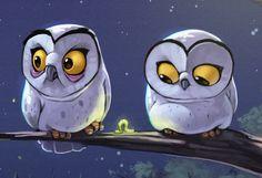 Owls by Biboun - Fossard Christophe,