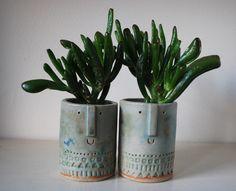 Atelier Stella Little succulent pots.