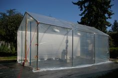 Great greenhouse idea, putting this one in the mental vault :)