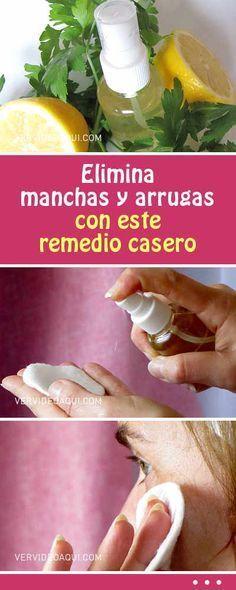 Elimina manchas y arrugas con este remedio casero #manchas #arrugas #cutis #piel #rostro #cara #rejuvencimientofacial #cosmeticanatural