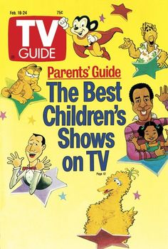 CHILDREN'S SHOWS - 1989 - TV GUIDE