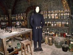 Harry Potter / Warner Bros Studio Tour. Snape's classroom