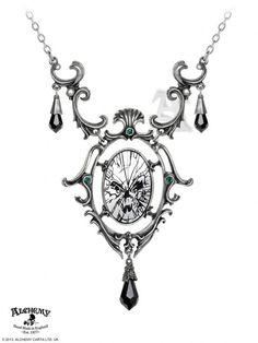 Alchemy Gothic - Catoptrauma Necklace - P668