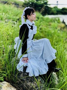 Maid Outfit, Maid Dress, Victorian Maid, Rose Hall, Maid Cosplay, Maid Uniform, Cute Girl Outfits, Kawaii, Aesthetic Fashion