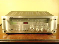 Rotel RX-2002 AM/FM stereo receiver.