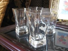 PARFAIT Glasses Four by AuntieNellies on Etsy, $23.98