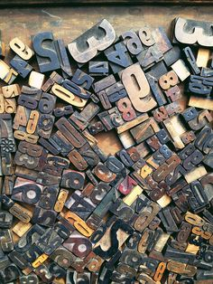 Wood Type- would love to find some old ones of these for the bedroom!