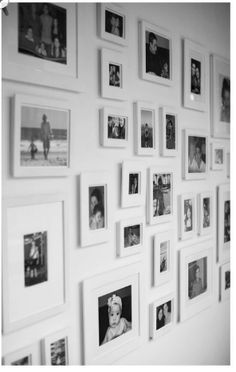 White Wall Frames how to make a giant hallway frame gallery | gallery wall, collage