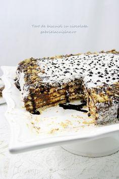 Chocolate Biscuit Cake/Tort de biscuiti cu ciocolata recipe