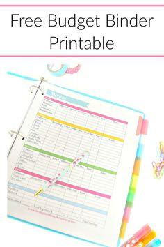 11 Free Budget Printables To Help Get Your Money Under Control - Smart Money, Simple Life - Finance tips, saving money, budgeting planner