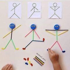 Subitizing to Ten Math Center Toddler Learning Activities, Montessori Activities, Motor Activities, Craft Activities For Kids, Infant Activities, Educational Activities, Preschool Activities, Teaching Kids, Kids Learning