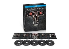 Cool! Terminator Anthology 5-Disc Collector's Edition Blu-ray Set For Only $19.99!
