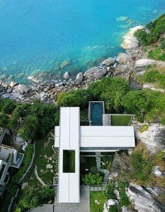 Modern architecture in nature.  #ultramodernhomedesign