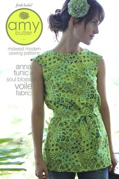 ANNA TUNIC - Pattern by Amy Butler