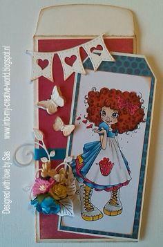Cards made by Sas: Dutch Doobadoo Envelope