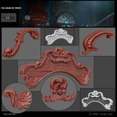 ArtStation - Circus panel, Anthony Roux Menaldo