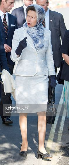 Princess Anne, Princess Royal attends Bicentenary Celebrations of The Royal Yacht Squadron on June 5, 2015 in Cowes, England. (Photo by Mark Cuthbert/UK Press via Getty Images,)