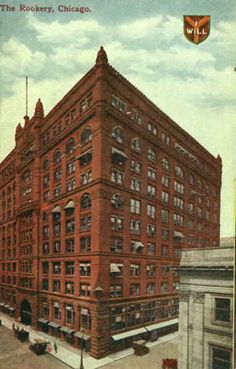 The Rookery. Chicago / Frank Lloyd Wright, Daniel Burnham, John Wellborn Root