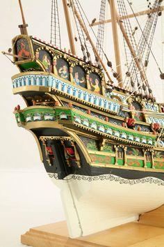 Ship model Stockholm Galleon of 1610