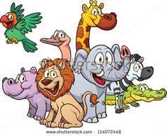 stock-vector-cartoon-safari-animals-vector-illustration-with-simple-gradients-all-in-a-single-layer-114072448.jpg (450×367)