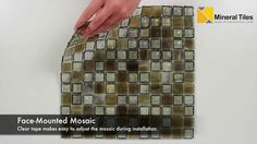 Stained Glass Mosaic Tile Moss 1x1 - 120HIARWE11MB http://www.mineraltiles.com/stained-glass-mosaic-tile-moss-1x1/