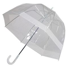 Clear Dome Bubble Umbrella With White Trim Elite Rain http://www.amazon.com/dp/B001M34MJO/ref=cm_sw_r_pi_dp_TJq6tb1M3TY6S